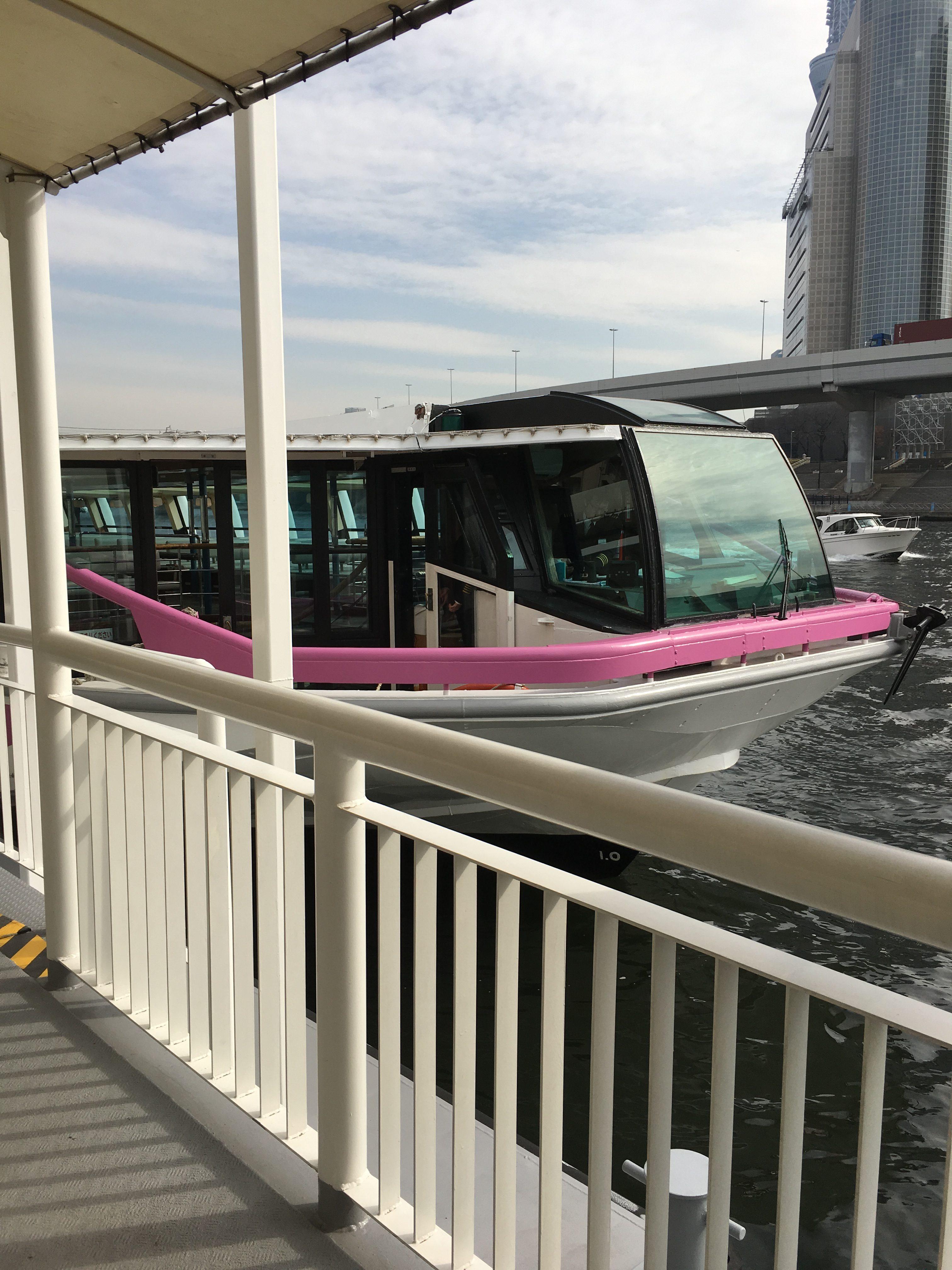 水上バス・東京湾クルーズ(TOKYO CRUISE)へ子連れで乗船!