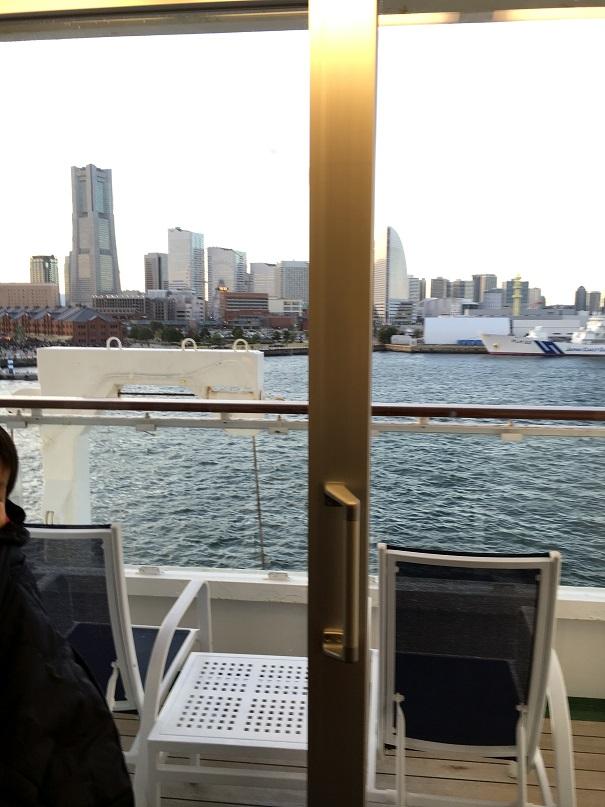 飛鳥Ⅱに乗船!~クリスマスワンナイトクルーズ in横浜~②乗船編